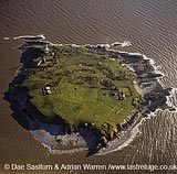 Flatholm, Bristol Channel, Somerset, England