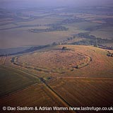 Ladle Hill Fort, unfinished hill fort, Hampshire , England