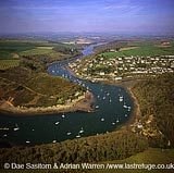 Wembury Bay Inlet and Newton Ferrers, south Devon, England