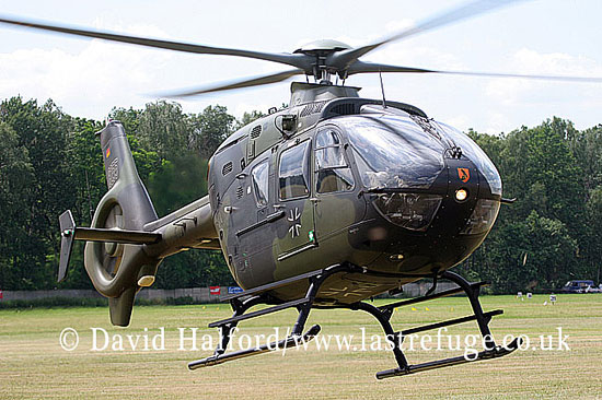 Small military transports: Eurocopter EC.135 (8255), German Army (Heer), Goraszka Air Picnic, Poland, June 2007_0022