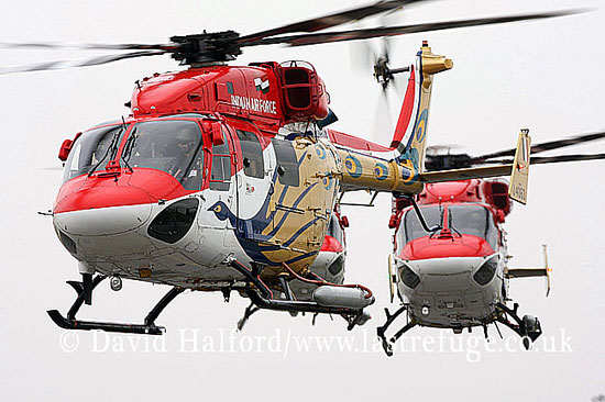 Small military transports: HAL Dhruv(s), Sarang Team, Indian AF, ILA Airshow, Berlin-Schoenefeld, Germany, May 2008_0074
