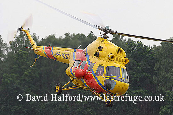 Paramilitary + Medical emergency: Mil Mi-2 (SP-WXO) of Polish Medical Air Rescue, Goraszka Air Picnic, Poland, June 2007-7718