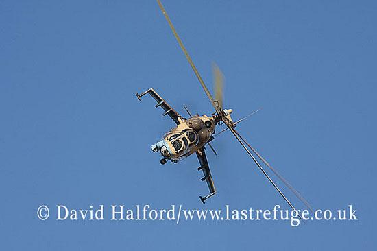 Attack helicopters : Mil Mi-35 Hind (854), LARAF, Mitiga AFB, Tripoli, Libya, 10-2009_0168
