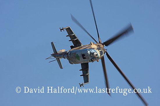 Attack helicopters : Mil Mi-35 Hind (854), LARAF, Mitiga AFB, Tripoli, Libya, 10-2009_0204