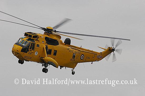 Search and Rescue Combat aircraft: Westland Sea King HAR.3A (XZ594-J) of 203(R) Sqn RAF, RIAT, RAF Fairford, UK, July 2006__6705