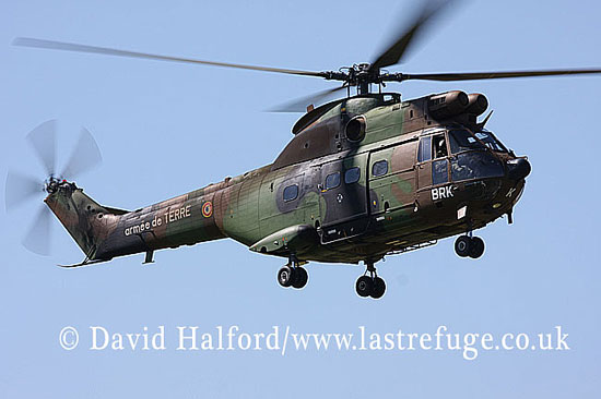 Medium military transports: Aerospatiale SA.330B Puma (1179 - BRK), 5RHC, ALAT, La Ferte Alais, France, May 2009_0006