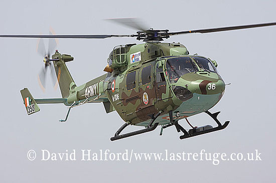 Small military transports: HAL Dhruv (IA-1136), Indian Army, ILA Airshow, Berlin-Schoenefeld, Germany, May 2008_0034
