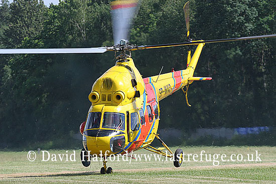 Paramilitary and Medical emergency: Mil Mi-2 (SP-WXO) of Polish Medical Air Rescue, Goraszka Air Picnic, Poland, June 2007-8468