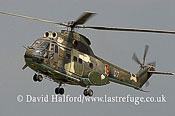 Medium military transports: IAR-330 Puma (07) of Romanian Air Force, M. Kogalniceanu Airport, Romania, July 2006-0934