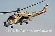 Attack helicopters : Mil Mi-35 Hind (854), LARAF, Mitiga AFB, Tripoli, Libya, 10-2009_0160