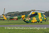 Large military transports: Mil Mi-8S (619), Polish AF, Radom, Poland, 08-2005_9069A