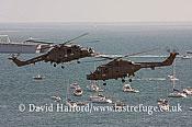 Small military transports: Westland Lynx HAS.3S + HMA.8DSP, Black Cats, RN, Bournemouth Air Festival, U.K., 23-08-2009_0050