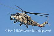 Attack helicopters : Mil Mi-35 Hind (854), LARAF, Mitiga AFB, Tripoli, Libya, 10-2009_0152