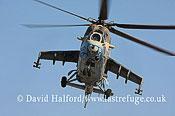 Attack helicopters : Mil Mi-35 Hind (854), LARAF, Mitiga AFB, Tripoli, Libya, 10-2009_0156