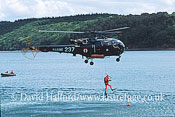 Search and Rescue Combat aircraft: Aerospatiale SA.316 Alouette III (237) of 22S Aeronavale, Lanveoc-Poulmic, France, May 2003 (transparency)