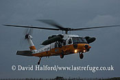 Search and Rescue Combat aircraft: Mitsubishi (Sikorsky) UH-60J (68-4565), Naha Kyunantai, JASDF, Naha AB, Okinawa, Japan, December