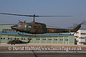 Medium military transports: Fuji (Bell) UH-1J (41835), Seibu Homen Herikoputatai, JGSDF, Metabaru AB, Kyushu, Japan, 12-2008_