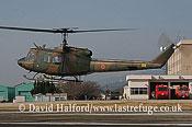 Medium military transports: Fuji (Bell) UH-1J (41835), Seibu Homen Herikoputatai, JGSDF, Metabaru AB, Kyushu, Japan, 12-20082