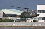 Medium military transports: Fuji (Bell) UH-1J (41835), Seibu Homen Herikoputatai, JGSDF, Metabaru AB, Kyushu, Japan, 12-20083