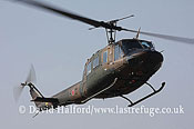Medium military transports: Fuji (Bell) UH-1J (41835), Seibu Homen Herikoputatai, JGSDF, Metabaru AB, Kyushu, Japan, 12-20085