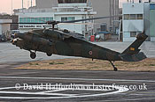 Medium military transports: Mitsubishi (Sikorsky) UH-60JA (43108), 102 Hikotai (TBC), JGSDF, Metabaru AB, Kyushu, Japan, 12-8