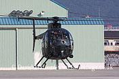 Small military transports: Kawasaki (MDH) OH-6D Loach (31308), Seibu Homen Herikoputatai, JGSDF, Metabaru AB, Kyushu, Japan,