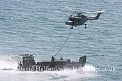 Small military transports: Royal Marine Commando assault, Bournemouth Air Festival, U.K., 23-08-2009_0018