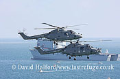Small military transports: Westland Lynx HAS.3S + HMA.8DSP, Black Cats, RN, Bournemouth Air Festival, U.K., 23-08-2009_0032