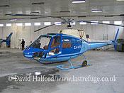 Paramilitary and Medical emergency: Aerospatiale AS.350B Ecureuil (ZA-HTD), Min. of Int., Tirana-Laprake, Albania, May 2006_9189