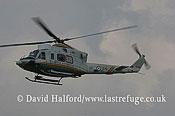Paramilitary and Medical emergency: Agusta-Bell AB.412HP (GF-219) of Guardia di Finanza, RIAT, Fairford, U.K., 07-2005_1758