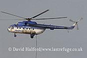 Paramilitary and Medical emergency: Mil Mi-17 (108-107M04) of Romanian Politia (police), M. Kogalniceanu Airport, Romania, July 2006-