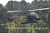 Warbirds and Museums: Bell 47G Sioux (F-BVXD), Biscarrosse, Landes, France, May 2008_0024