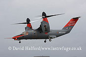 Future vertol developments: Bell-Agusta BA-609 (N609AG), Farnborough Air Show, U.K., July 2008_0126