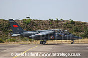 Dassault-Breguet/Dornier Alphajet (E66 / 8-ME) of the French Air Force taxying, Cazaux Air Base, Landes, France - June 2005