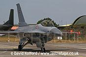 Lockheed-Martin F-16A MLU (E-075) Danish AF taxying, Cazaux Air Base, Landes, France - June 2005