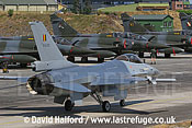 Lockheed-Martin F-16A MLU (FA-133) Belgian AF taxying, Cazaux Air Base, Landes, France - June 2005