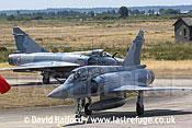 Dassault Mirage 2000B (508 - 5-OP) taxying-04, Cazaux,June 2005