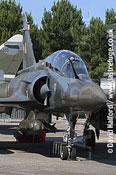 Dassault Mirage 2000D (615 - 3-JY) parked-01, Cazaux,June 2005
