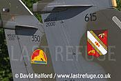 Dassault Mirage 2000D (615 - 3-JY) tail, Cazaux, June 2005