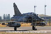 Dassault Mirage 2000D (670 - 3-IQ) taxying-02, Cazaux, June 2005