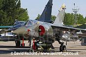 Dassault Mirage F.1CT (227 - 330-AP) parked-01, Cazaux, June 2005
