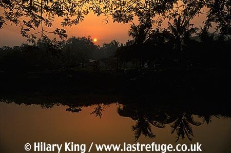 Siemrea River, Angkor, Cambodia