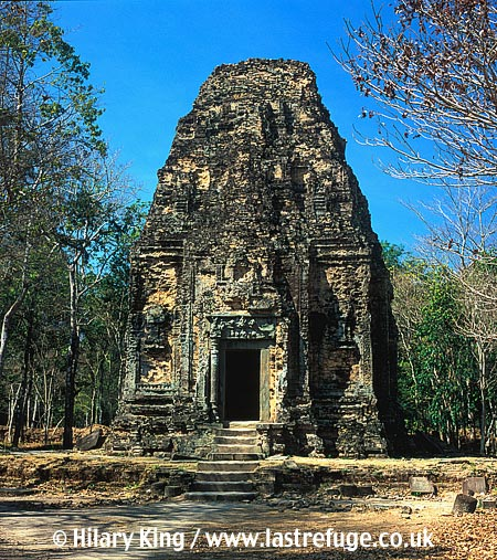 Sambor Prei Kuk, pre-Ankorian sites, dating frm 7th century, Kampong Thom, Cambodia