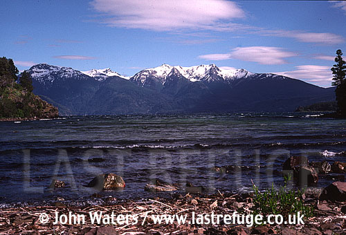 Lake Futalaufquen, Los Alerces National Park, Patagonia, Argentina