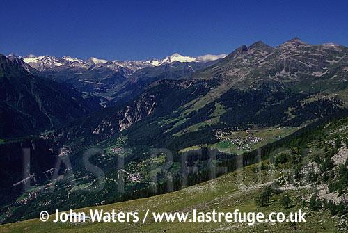 Valle Leventina, Swiss Alps, Ticino, Switzerland, Europe