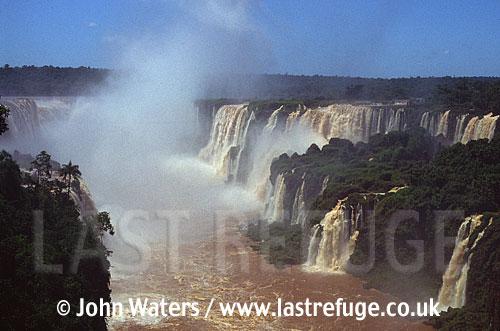 Iguazu Falls, Brazilian side, Brazil