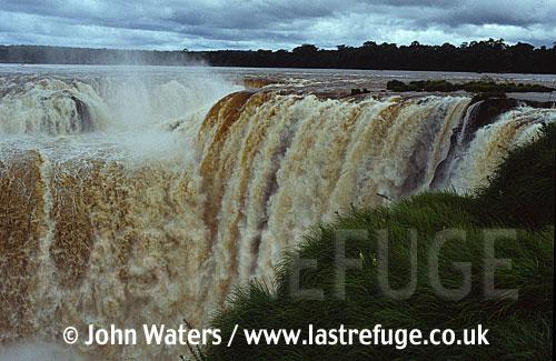 Devils throat, Iguazu Falls, Argentine side, Argentina