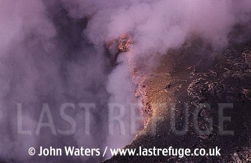 Fumarole on Volcan Masaya National Park, Nicaragua
