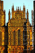 Wells Cathedral, West Face, Wells, Somerset, UK