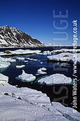 Spring ice break-up, Svalbard, Norway, Scandanavia, Arctic